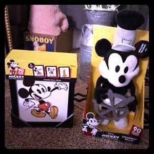 90 years of Magic Mickey Mouse stuffed Animal